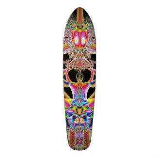 "Skateboard featuring ""Atomic Beatle"" Fractal Image"