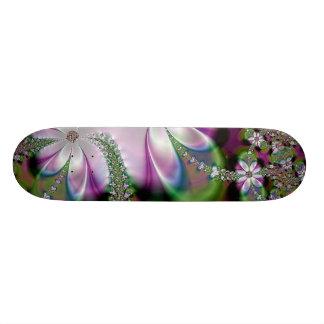 Skateboard Floral Garden