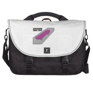 Skateboard For Life Laptop Computer Bag