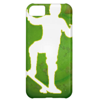 SKATEBOARD GREEN BACKGROUND PRODUCTS iPhone 5C CASES