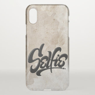 Skateboard Grunge Selfie Street Art Lettering iPhone X Case