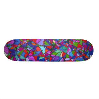 Skateboard: Hearts Skate Board