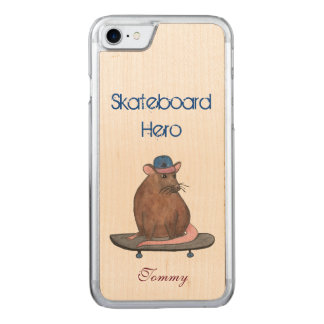 Skateboard Hero Carved iPhone 8/7 Case