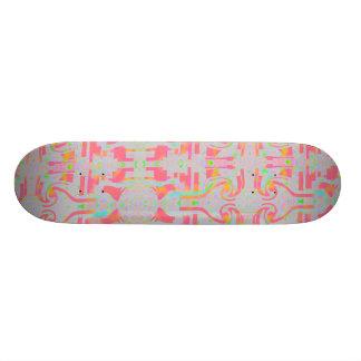 Skateboard In The Pink ZIZZAGO Skate Board Decks