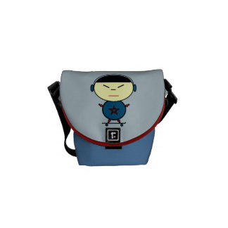 Skateboard Kid Courier Bags