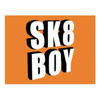 Skateboard Logo Postcard