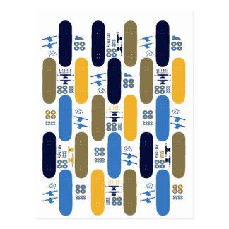 Skateboard Madness (BB) Postcard