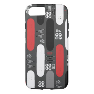 Skateboard Madness (GRB) iPhone 7 Case