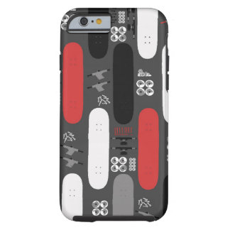 Skateboard Madness (GRB) Tough iPhone 6 Case