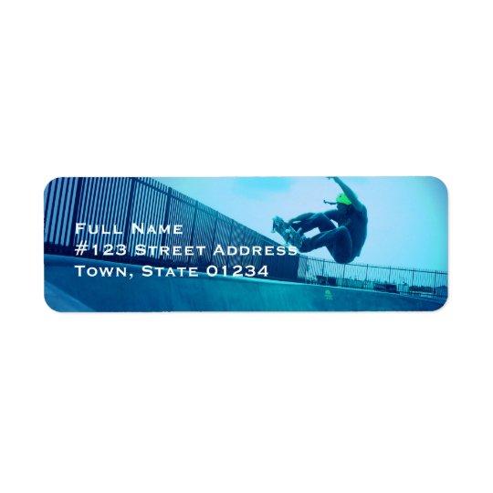 Skateboard Mailing Labels