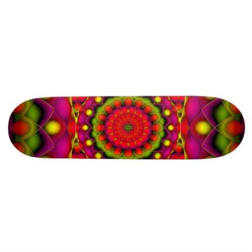 Skateboard Mandala Psychedelic Visions