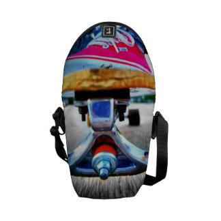 Skateboard Mini Messanger Bag Commuter Bag