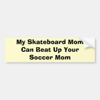 Skateboard Moms Bumper Sticker