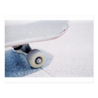 Skateboard Nose Postcard