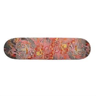 Skateboard Pink Patch Skate Deck