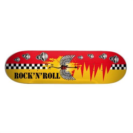 skateboard pro rock'n'roll