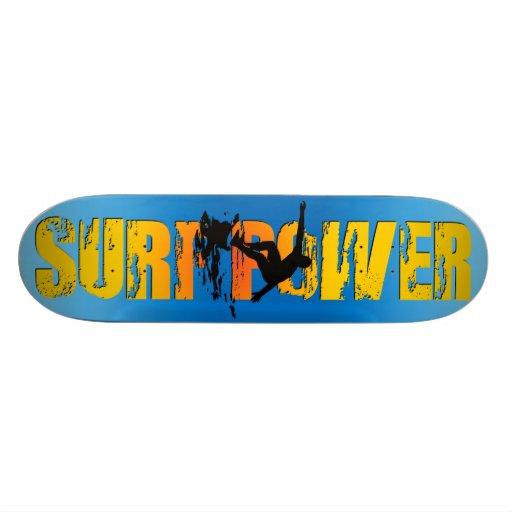 skateboard pro surf power
