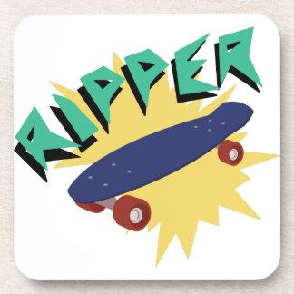 Skateboard Ripper Beverage Coasters