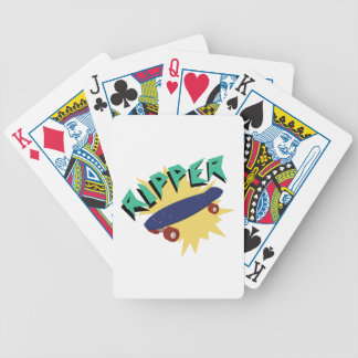 Skateboard Ripper Bicycle Playing Cards