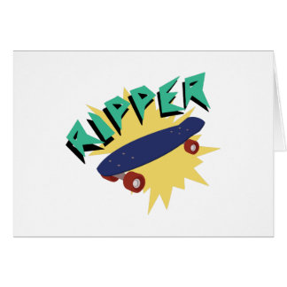 Skateboard Ripper Card