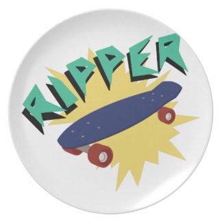Skateboard Ripper Plate