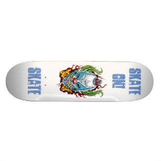 """Skateboard """"Skate On!"""" """"Skate"""" Evil Clown"""