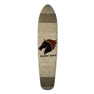 """Skateboard """"Skater Spirit"""" in nature"""