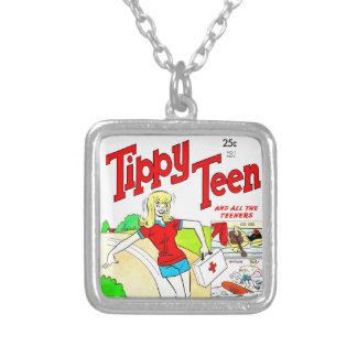 Skateboard Teen Girl Cartoon Custom Jewelry