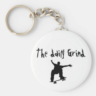 skateboard, The daily Grind. Key Ring
