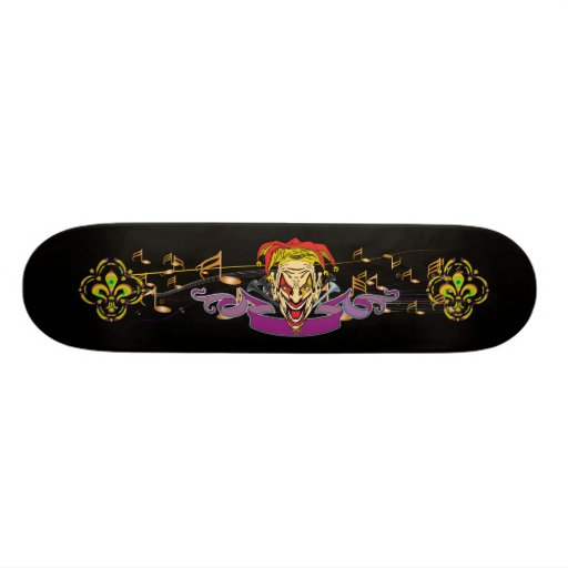 Skateboard-The-Joker-set-1-Black-no-text