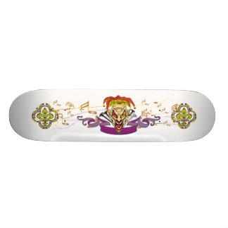 Skateboard-The-Joker-set-1-White-no-Text 21.3 Cm Mini Skateboard Deck