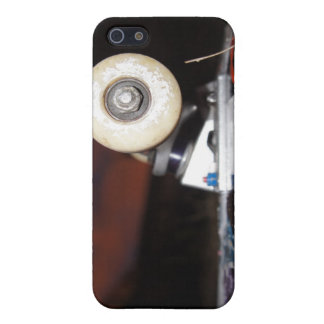 Skateboard wheel covers for iPhone 5