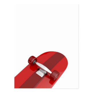 Skateboard wheels postcard