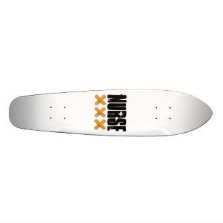 Skateboard with Nurse Design