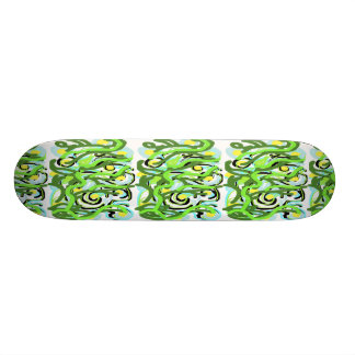 Skateboard Xtreme Abstract Design