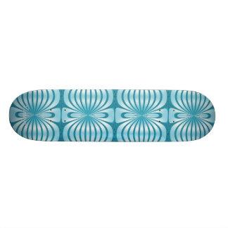 Skateboard Zizzago Blooming Blue Skateboard Decks