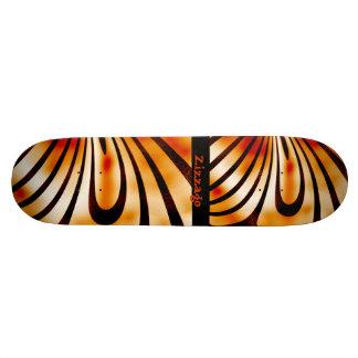 Skateboard Zizzago Blooming Burnt 2 Custom Skate Board