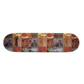 Skateboard Zizzago Rusty Street Patch Skate Deck