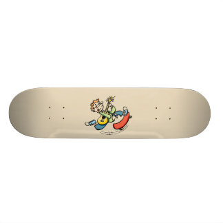 Skateboarder 21.6 Cm Old School Skateboard Deck