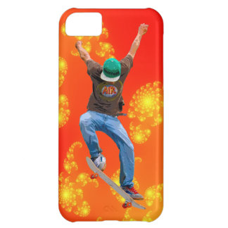 Skateboarder Action Sports Art iPhone 5C Covers