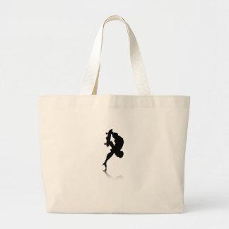Skateboarder Tote Bag