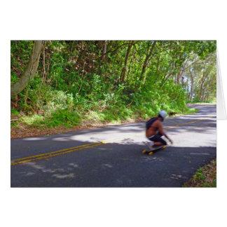 Skateboarder Card