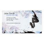 Skateboarder Grunge Business Card