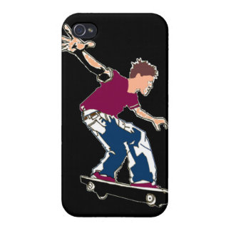Skateboarder - iPhone Case iPhone 4 Cases