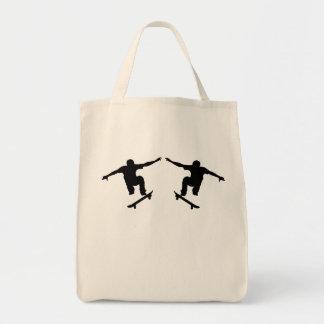 Skateboarder Mirror Image Bag