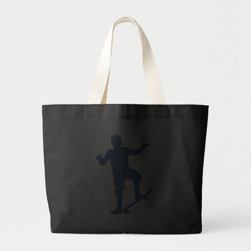 Skateboarder Silhouette Tote Bags Bags