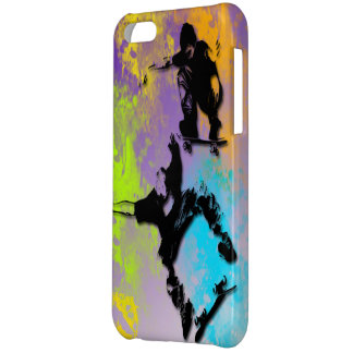 Skateboarders iPhone 5C Barely There Case iPhone 5C Case