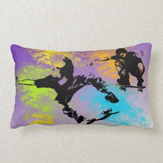Skateboarders Lumbar Pillow Cushions