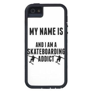 Skateboarding Addict iPhone 5 Case