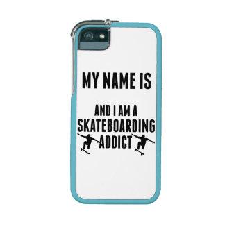 Skateboarding Addict Case For iPhone 5/5S
